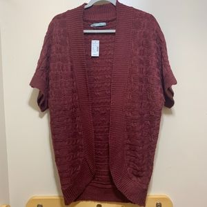 Maurices Sweater Kimono New With Tags